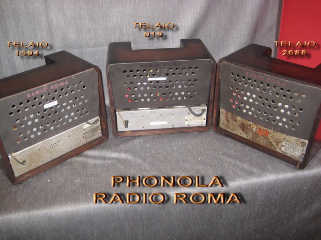 radio roma phonola 33