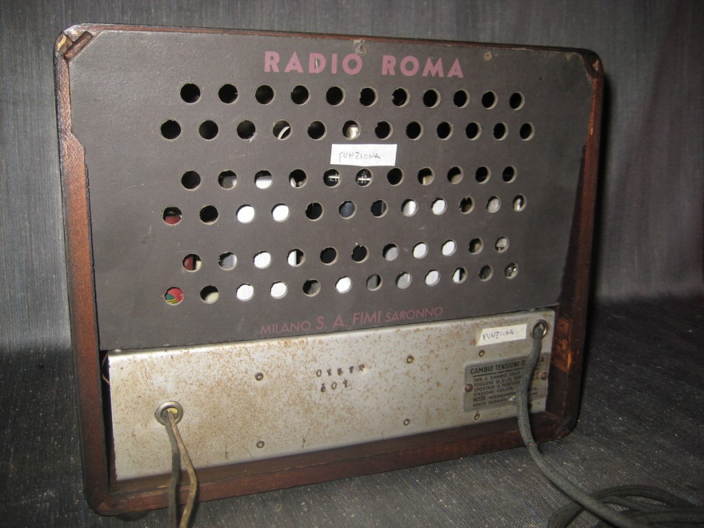 radio roma phonola 7