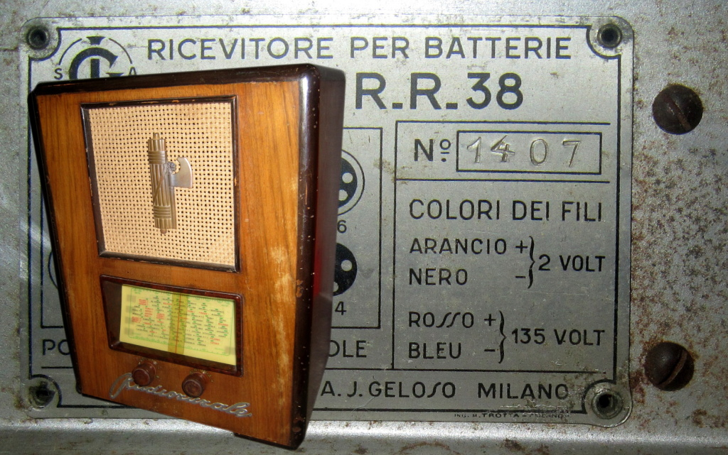 radio rurale geloso batterie 105