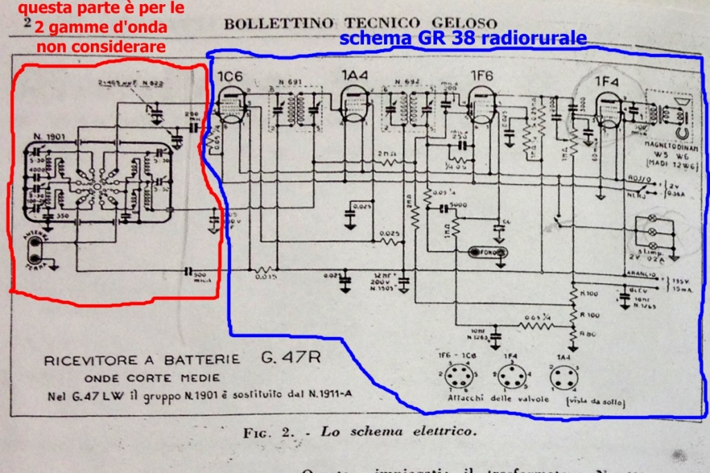 radio rurale geloso batterie 161