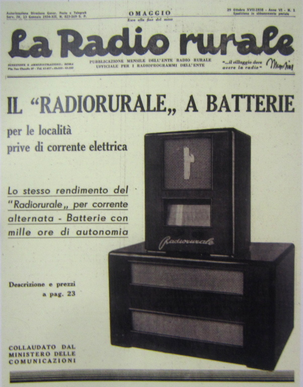 radio rurale geloso batterie 166