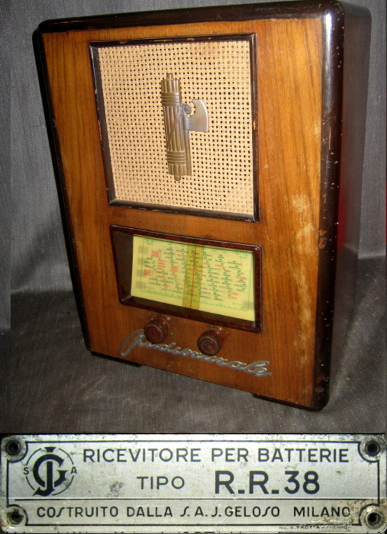 radio rurale geloso batterie 167