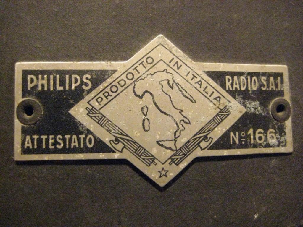 radio rurale philips anno xvi 18