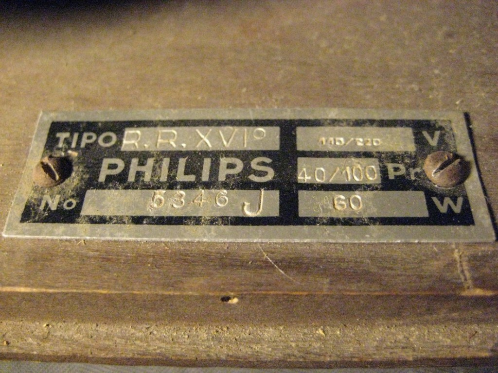 radio rurale philips anno xvi 23