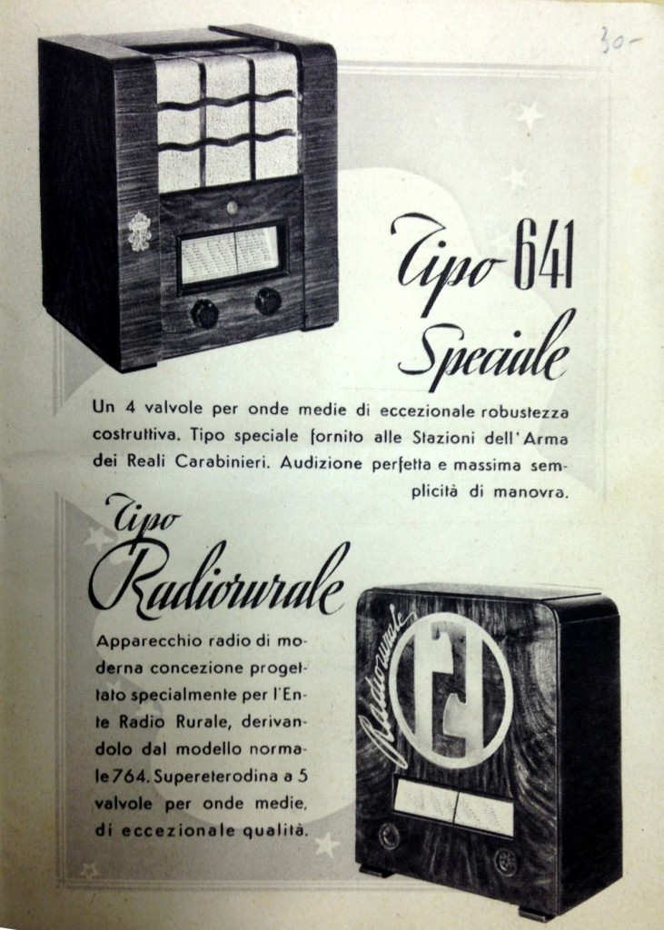 radio rurale philips anno xvi 48