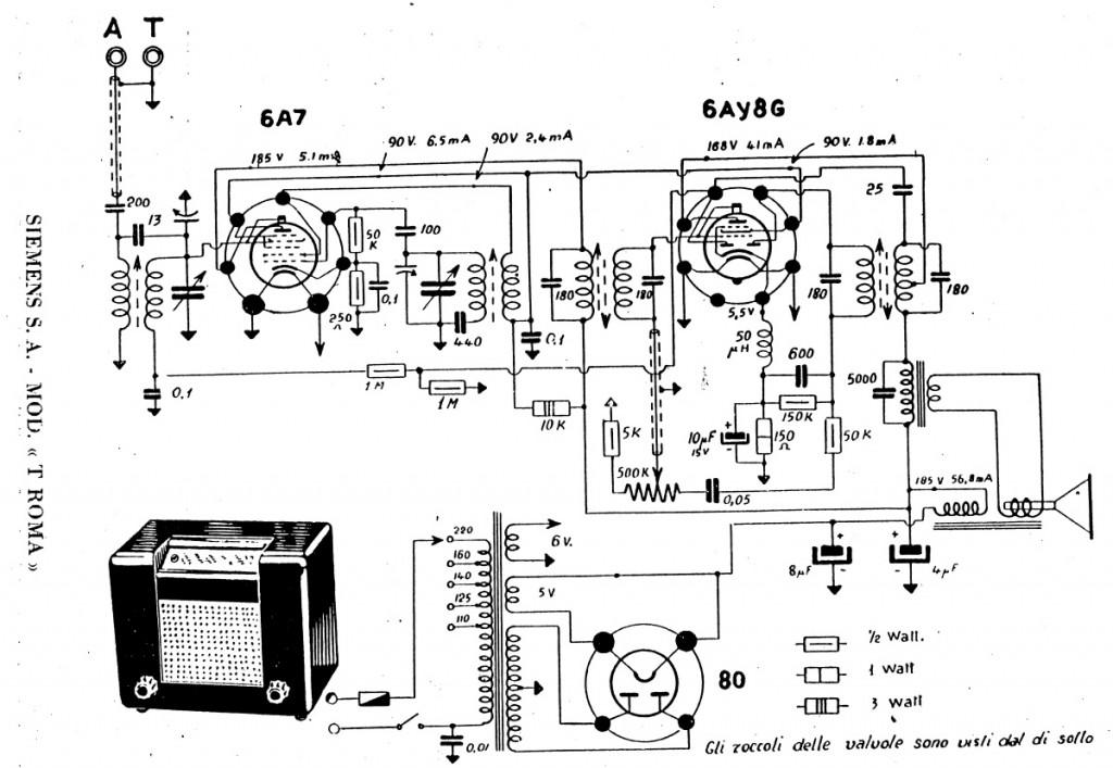 radio_Roma_Telefunken_37a schema