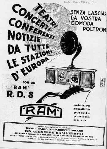 ramazzotti radio pubblicita