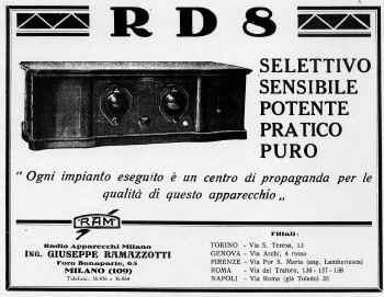ramazzotti radio rd8