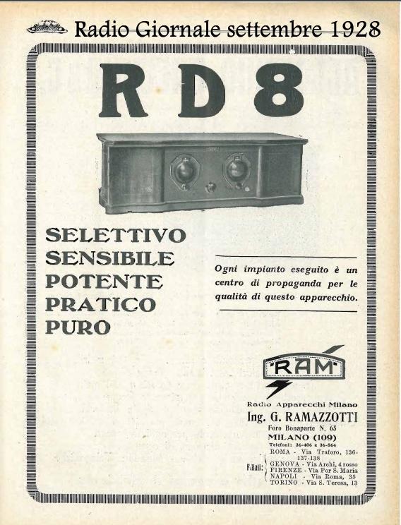 rd8 sec serie rad gio sett 28