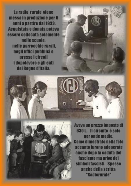 14 foto d'epoca radiorurale nelle scuole