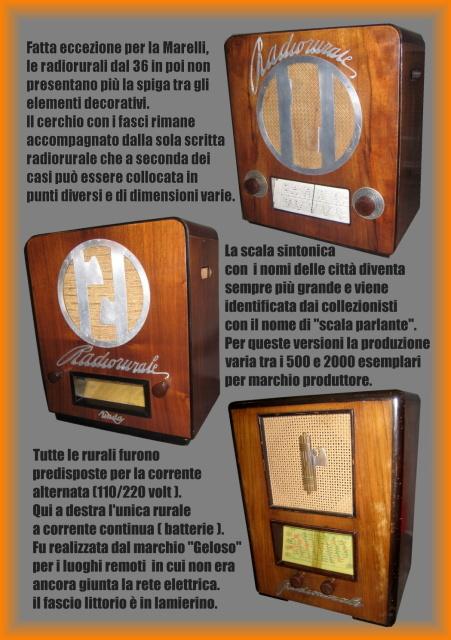 16 compro radio rurali radio roma radio balila