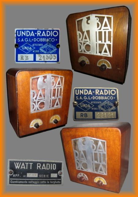 18 elenco balilla messe in produzione su radio rurale
