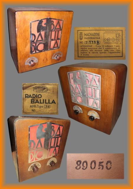 19 elenco balilla messe in produzione sul sito radio rurale