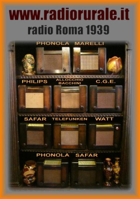 24 compro collezioni intere di radio d'epoca