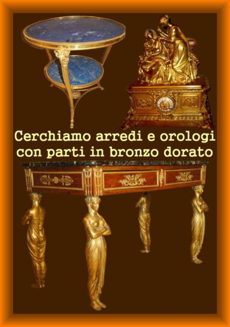 31 compro mobili con parti in bronzo dorato