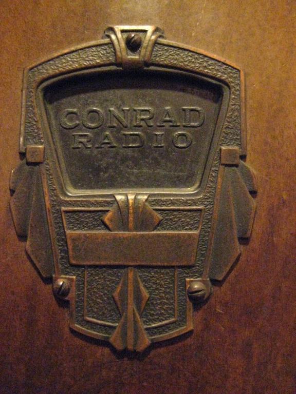 Conrad Radio cupoletta 1