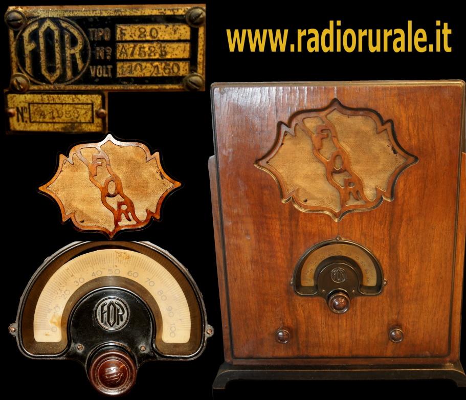 RADIO FOR TIPO F20 telaio A523 _12