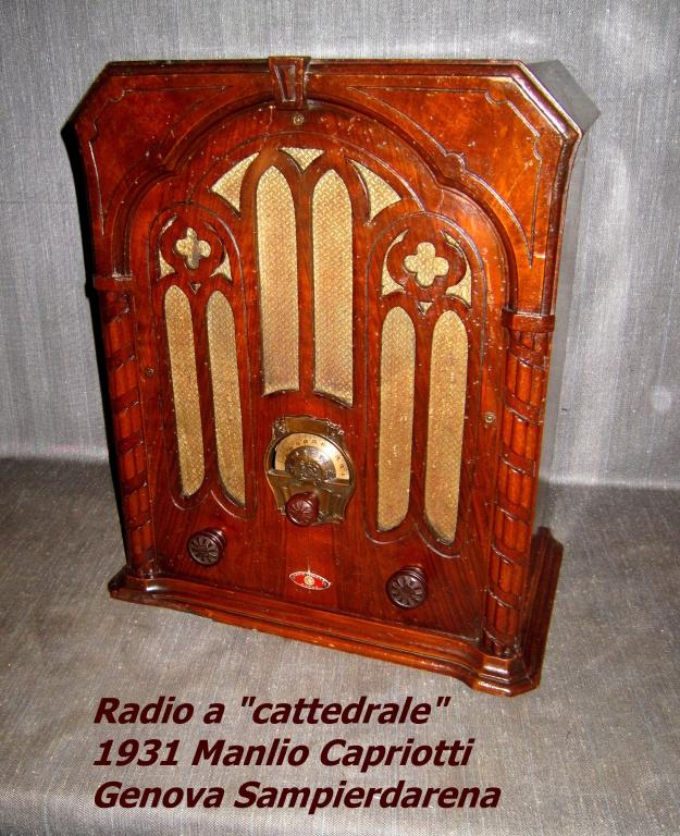Radio Capriotti Manlio modello Sovrano