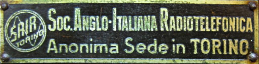 Radio Sair Torino anni 20 51