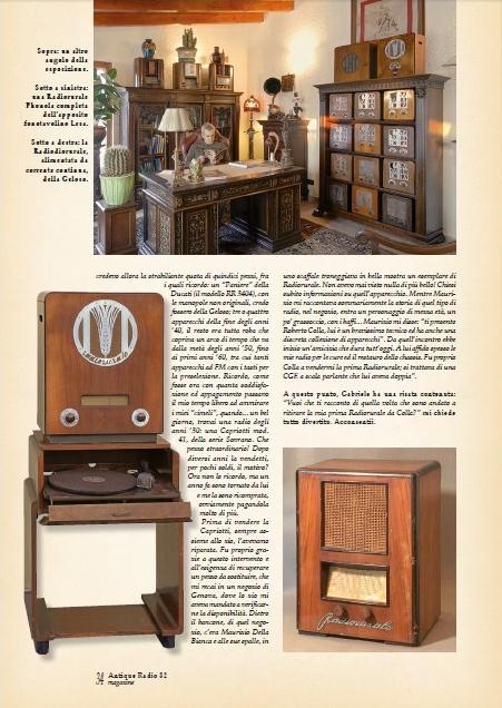 articolo sulla collezione Gabriele Gogna