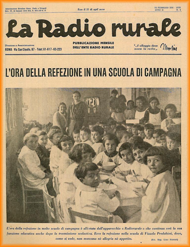 la radio rurale rivista giornale
