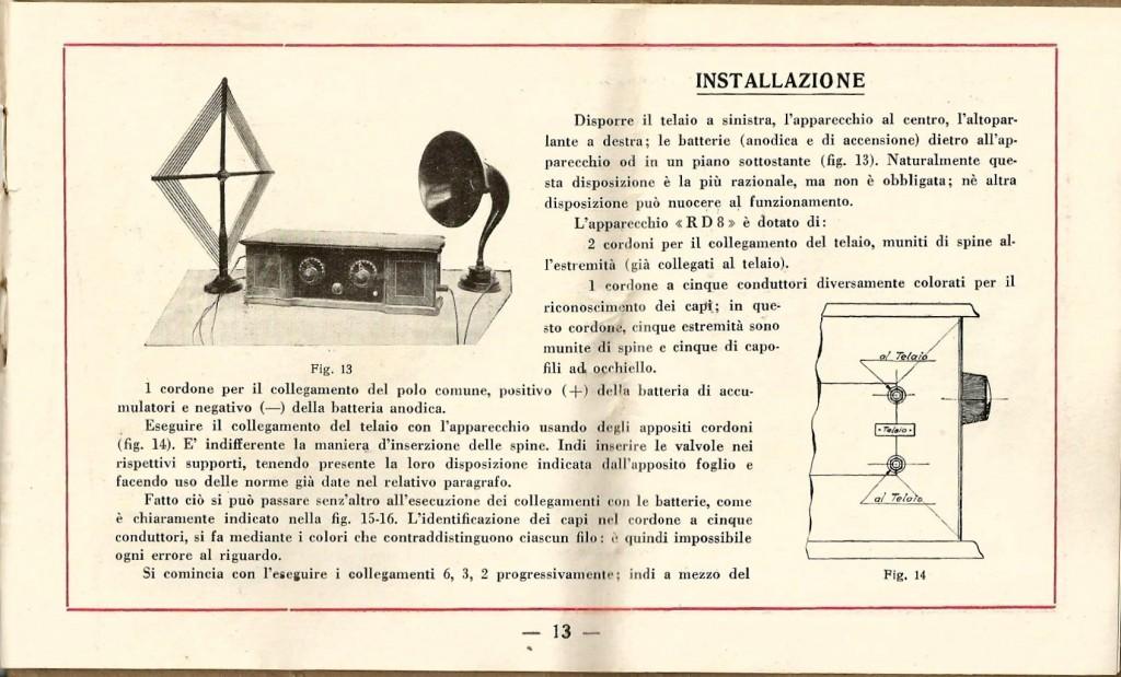 libretto istruzioni ramazzotti rd8 13