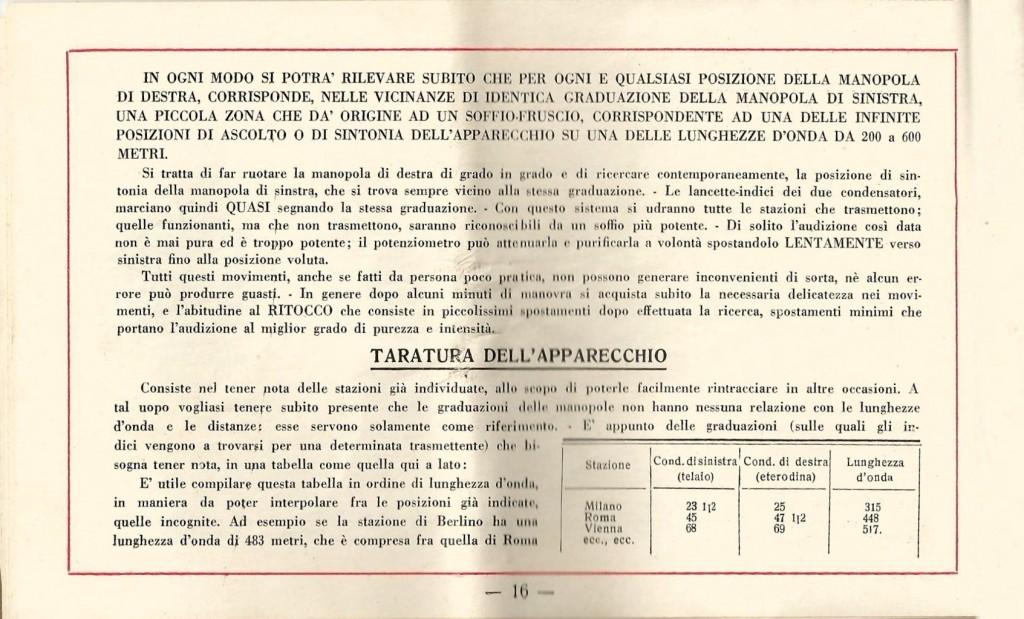 libretto istruzioni ramazzotti rd8 16