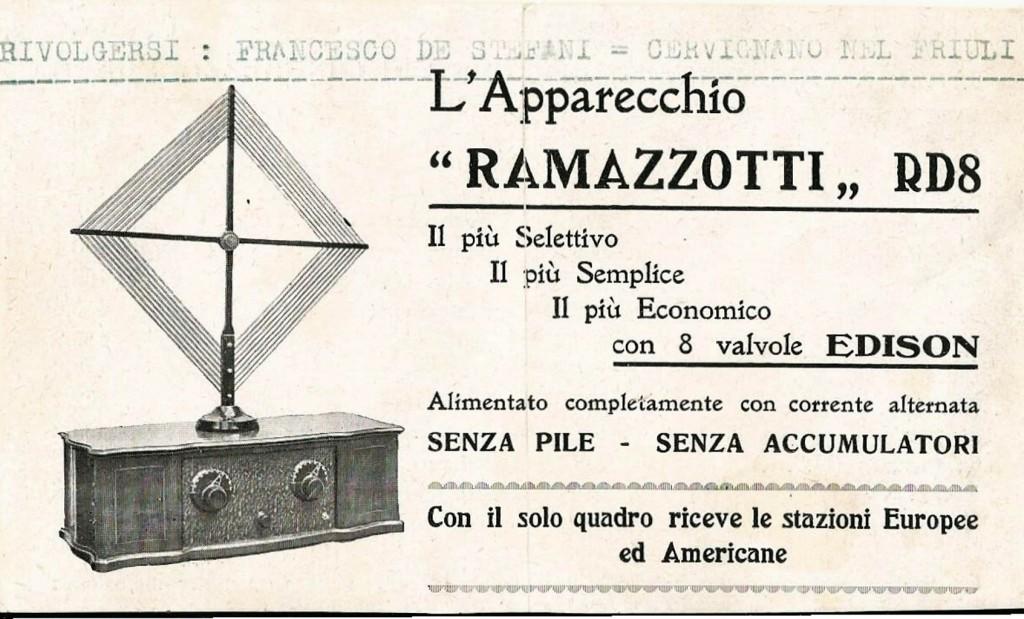 libretto istruzioni ramazzotti rd8 20