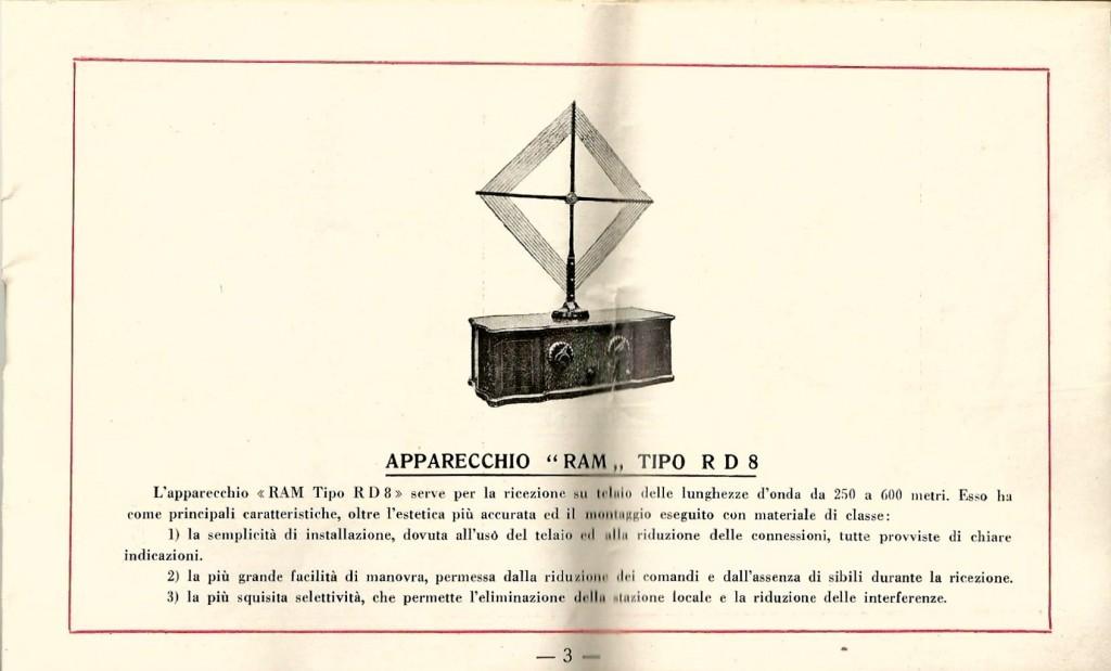 libretto istruzioni ramazzotti rd8 3