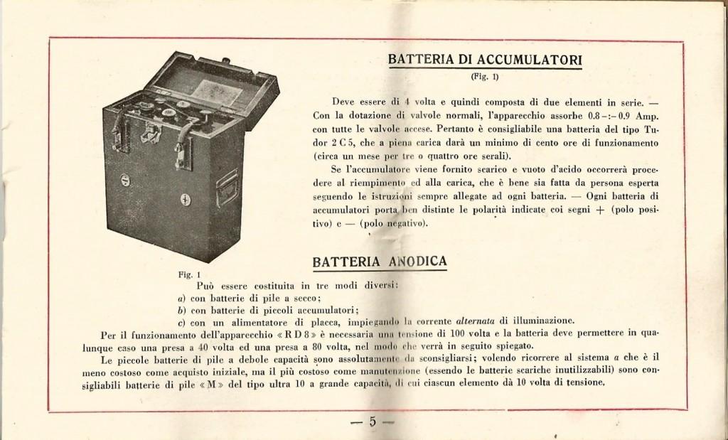 libretto istruzioni ramazzotti rd8 5