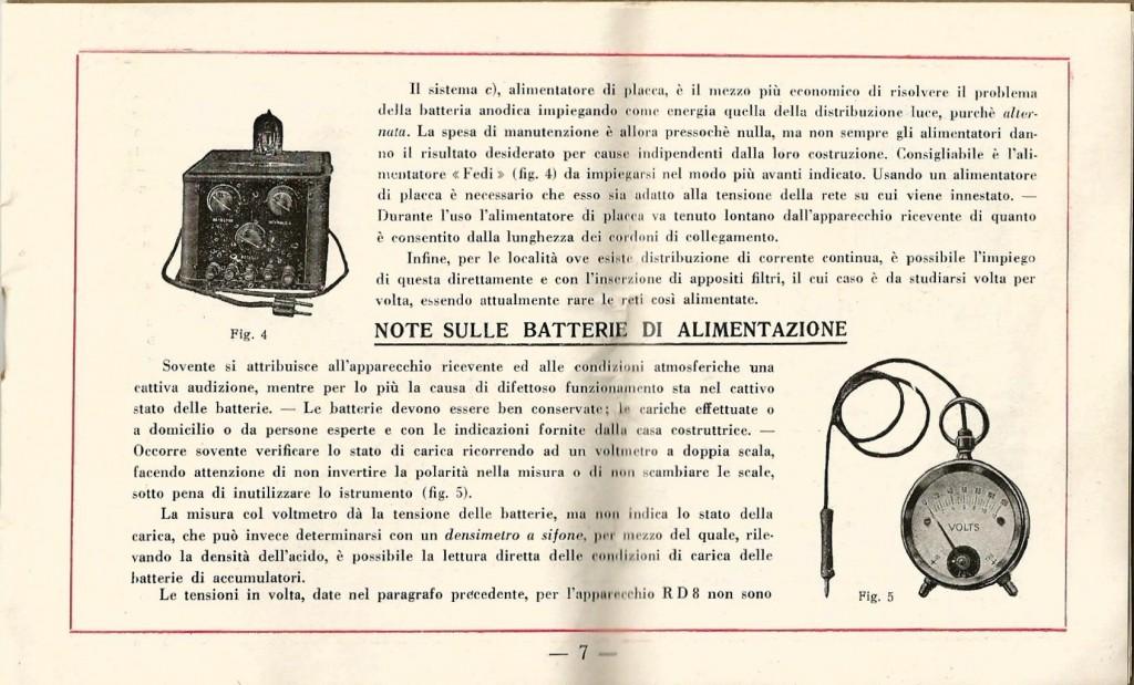 libretto istruzioni ramazzotti rd8 7