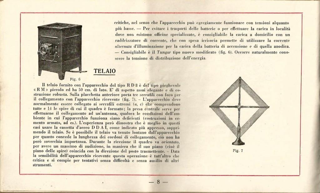 libretto istruzioni ramazzotti rd8 8