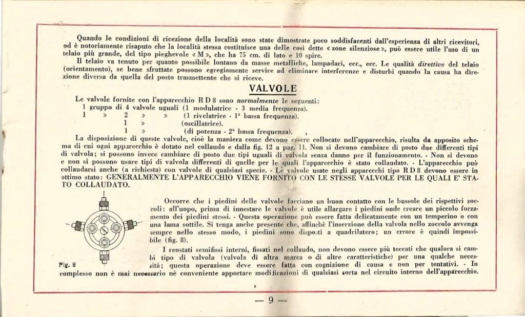 libretto istruzioni ramazzotti rd8 9