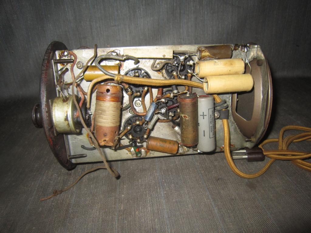 radio Clarion botte anni 30 fivre viola 22