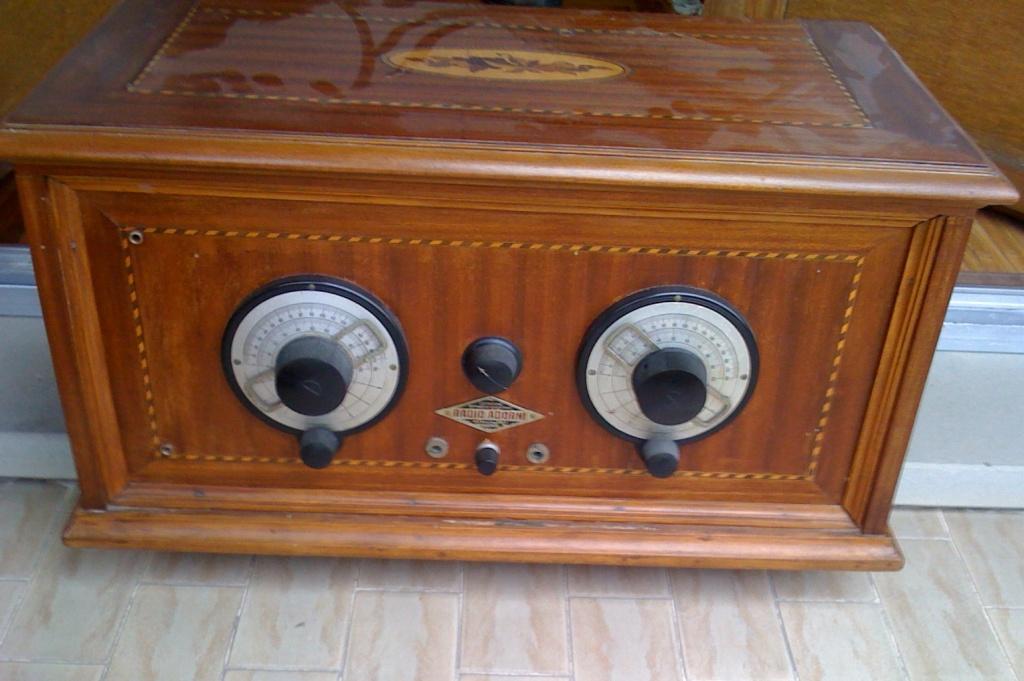 Radio Adorni anni 20 costruttore inedito di Parma