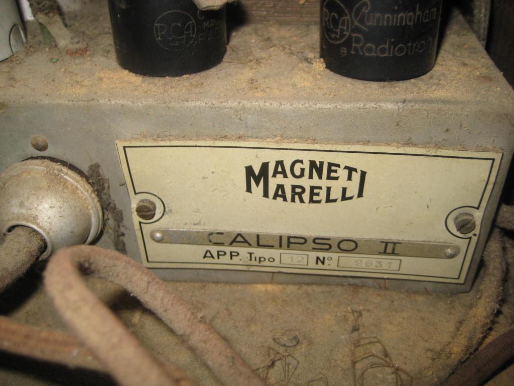 radio marelli  chassi calipaso II 11
