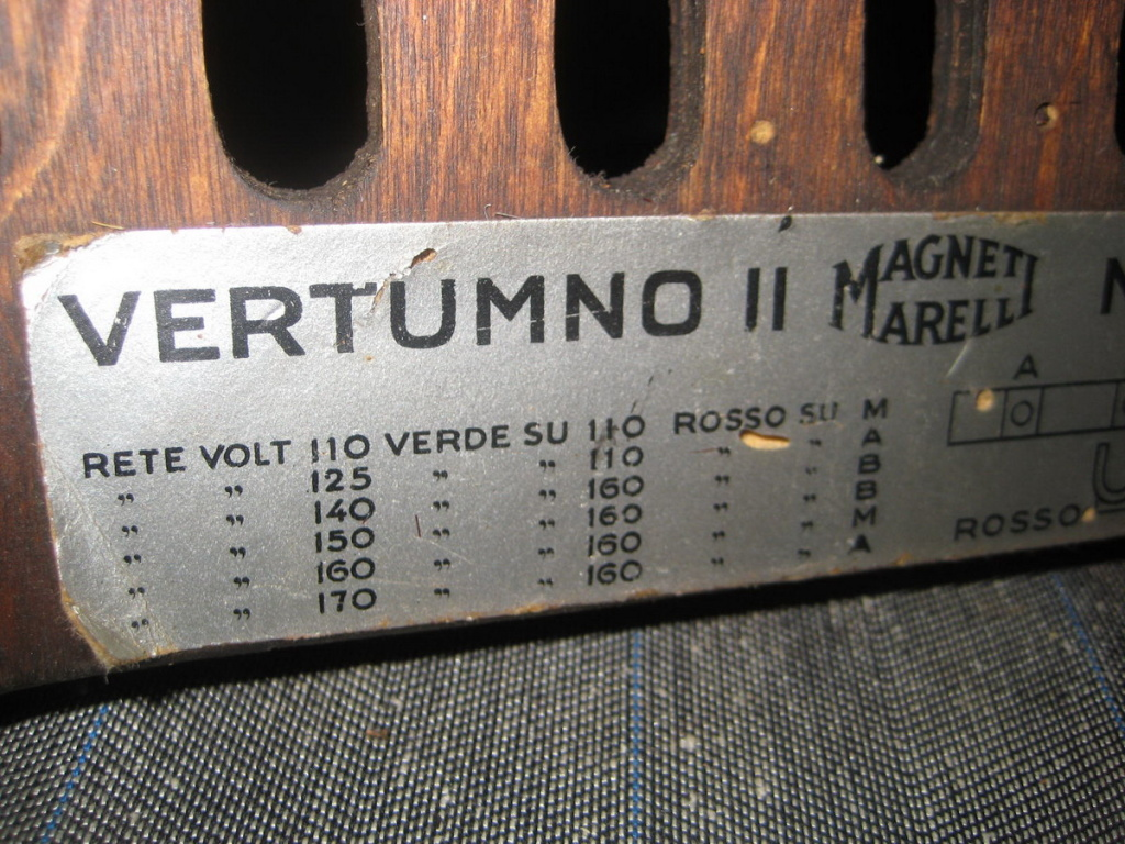 radio marelli vertumno II  22