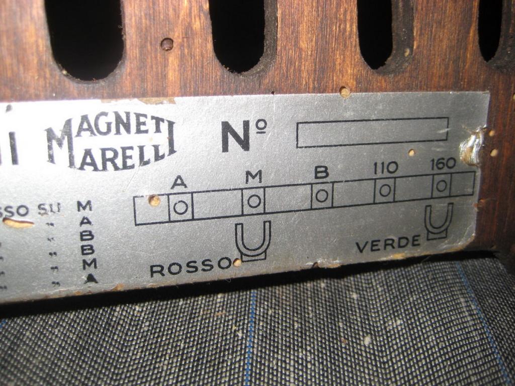 radio marelli vertumno II  23