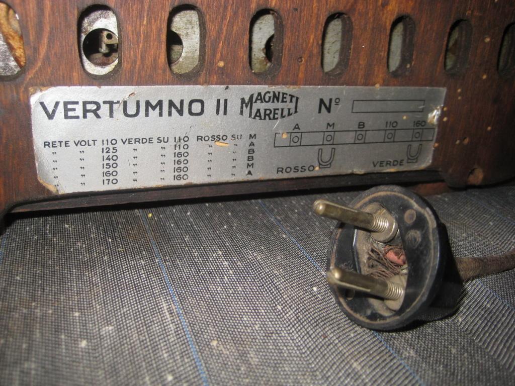 radio marelli vertumno II  8
