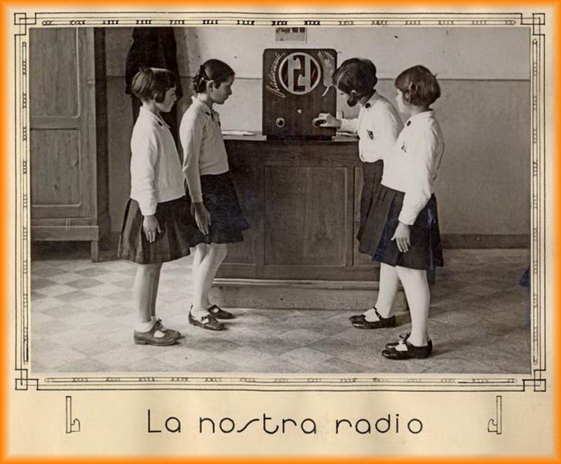 radio rrale a scuola