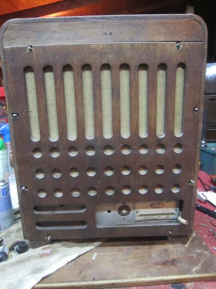 radio rurale marelli tipo 18 3