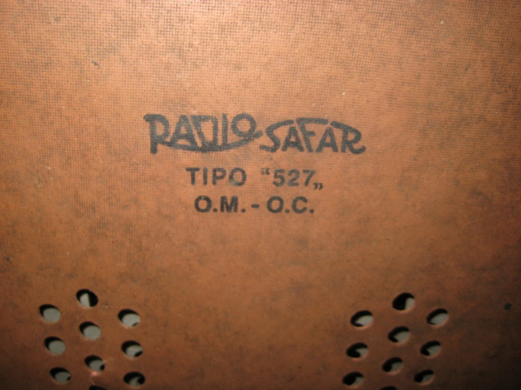 radio safar 527 alabastro 12