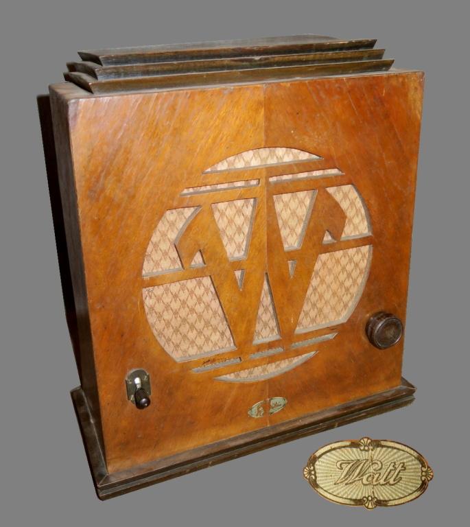Radio Watt  mod. Balilla 1933 2 valvole.