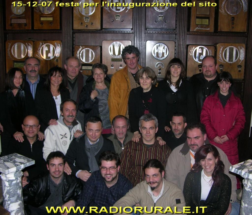 inaugurazione radiorurale festa radio d'epoca 1