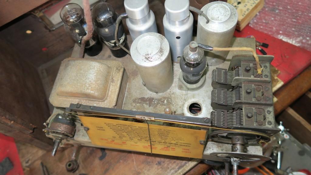 radio Aquila S 56 telaio 1945 12