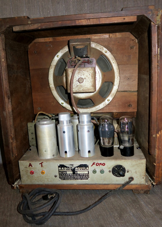 radio Aquila S 56 telaio 1945 8