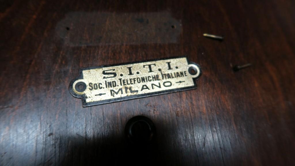 altoparlante siti societa industrie telefoniche italiane 33