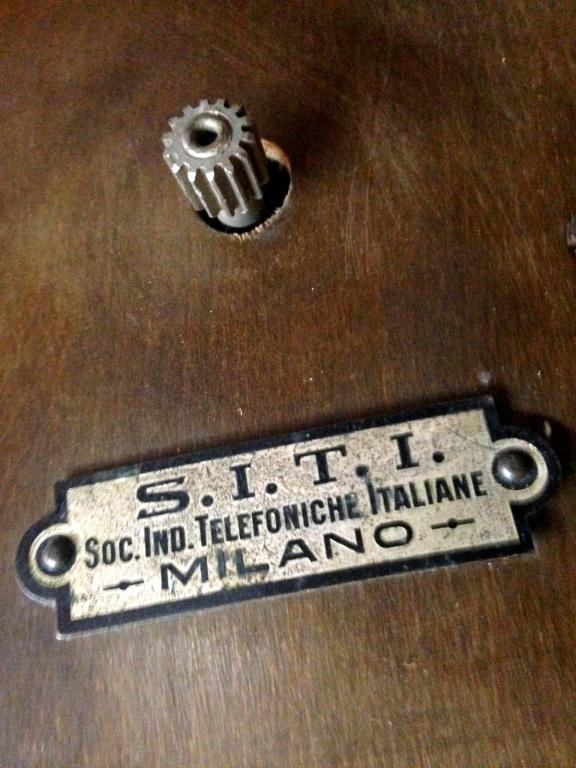 altoparlante siti societa industrie telefoniche italiane 37