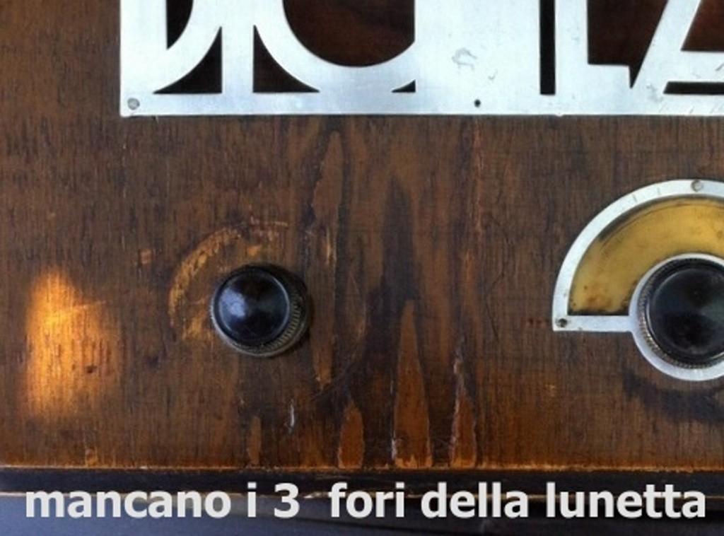 RADIO BALILLA WATT telaio 225 0a