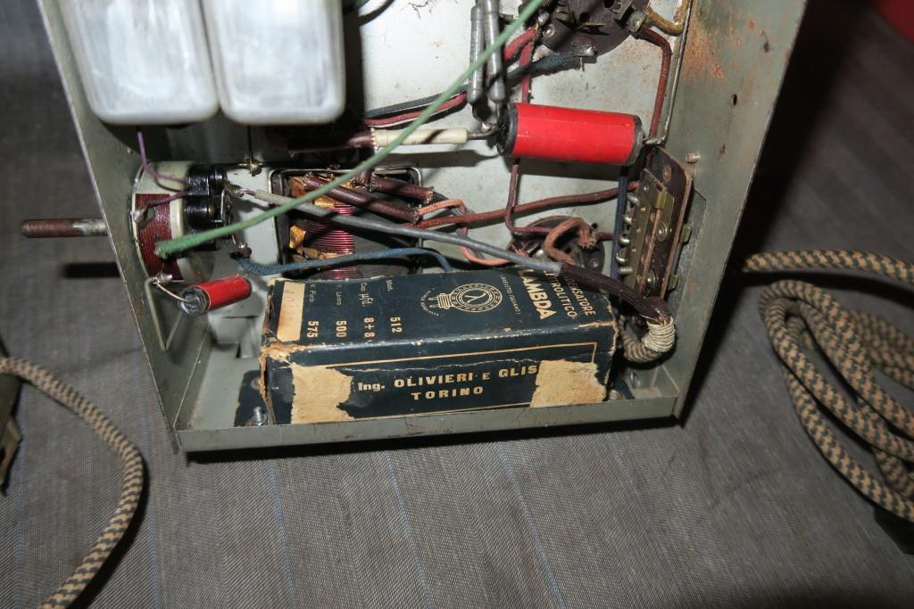 RADIO BALILLA WATT telaio 225 22